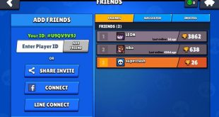 The new Nulls Brawl update that allows you to invite your friends
