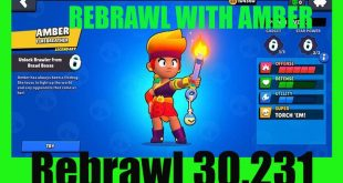 DOWNLOAD REBRAWL WITH NEW BRAWLER AMBER