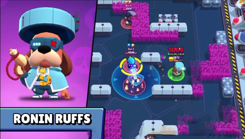 NEW UPDATE of BRAWL STARS with a new brawler RUFFS and NEW SKINS
